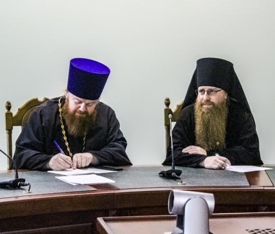 В Тамбовской духовной семинарии состоялось первое заседание Оргкомитета XXVI региональных Питиримовских духовно-образовательных чтений Тамбовской епархии