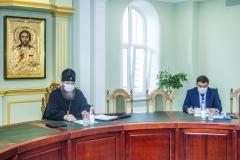 Состоялось первое заседание Тамбовского епархиального совета по теологическому образованию