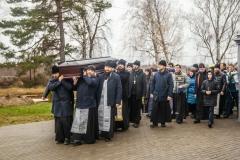Совершено отпевание протоиерея Петра Лукина