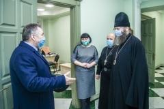 Начальник УМВД области генерал-майор полиции Николай Скоков посетил семинарию