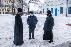 Ректор семинарии встретился с руководителем музейно-выставочного центра Тамбовской области