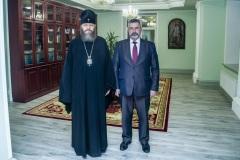 Глава митрополии встретился с главным федеральным инспектором по Тамбовской области аппарата полномочного представителя Президента РФ