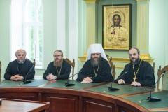 Ректор Тамбовской духовной семинарии встретился с представителями Учебного комитета