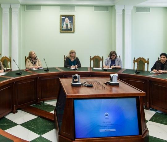 В Тамбовской духовной семинарии прошло заседание по развитию православного образования и воспитания в дошкольных образовательных организациях Тамбовской области