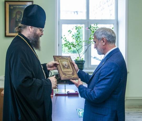 Семинарию посетил депутат Госдумы РФ Алексей Александрович Журавлев
