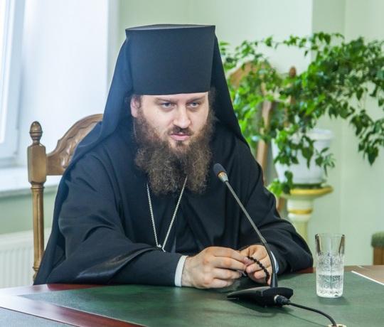 Ректор Коломенской духовной семинарии посетил Тамбовскую духовную семинарию