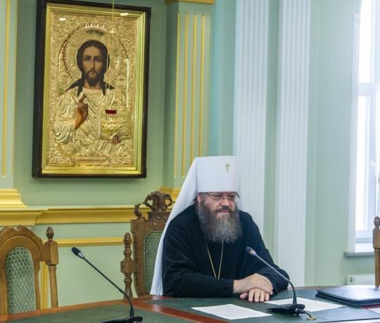 В Тамбовской духовной семинарии состоялось заседание Епархиального совета