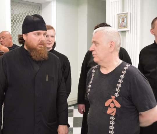В Тамбовской духовной семинарии состоялась презентация экспресс-выставки «Россия — храм души»