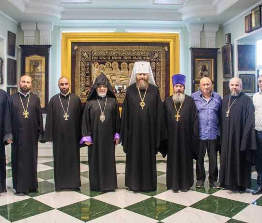 Глава Российской и Ново-Нахичеванской епархий Армянской апостольской церкви посетил Тамбовскую духовную семинарию