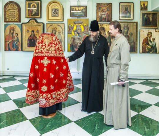 Тамбовскую духовную семинарию посетил епископ Уваровский и Кирсановский Игнатий