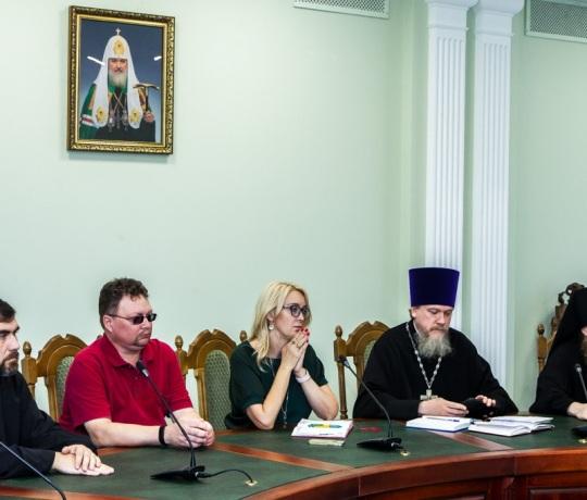 Общее собрание профессорско-преподавательского состава Тамбовской духовной семинарии
