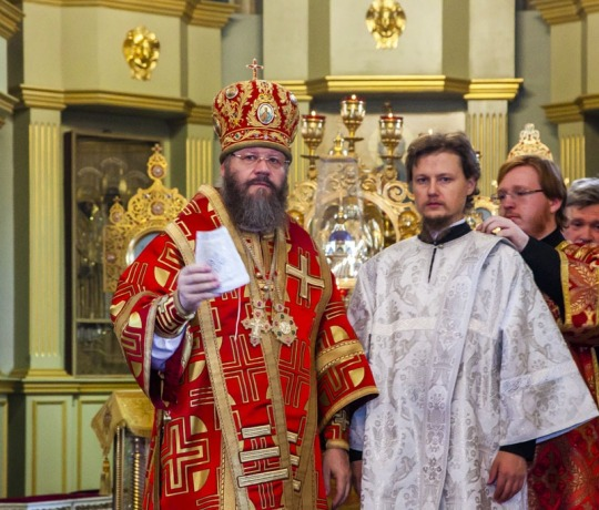 11 сентября митрополит Тамбовский и Рассказовский Феодосий совершил Божественную литургию