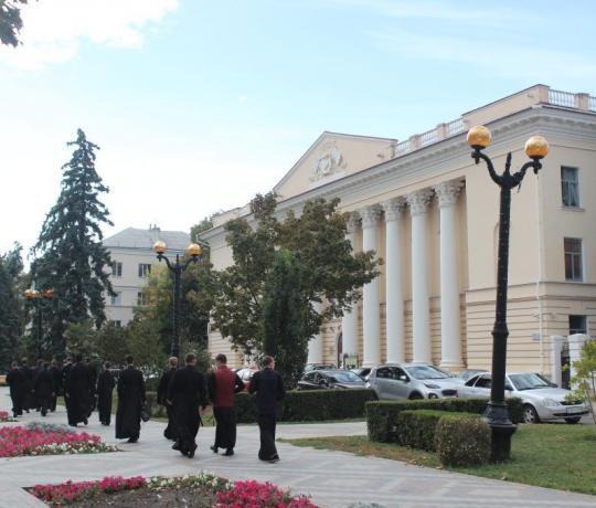 Семинаристы посетили областной краеведческий музей