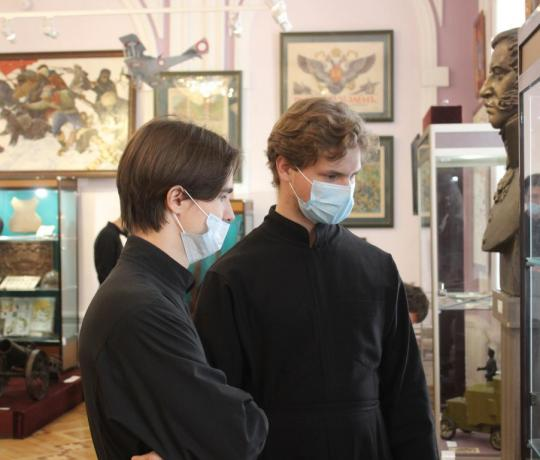 Семинаристы посетили Музейно-выставочный центр Тамбовской области