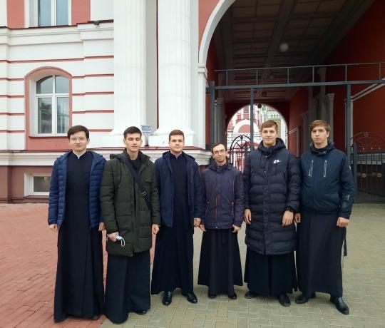 Семинаристы посетили Тамбовский государственный академический театр им. А.В. Луначарского