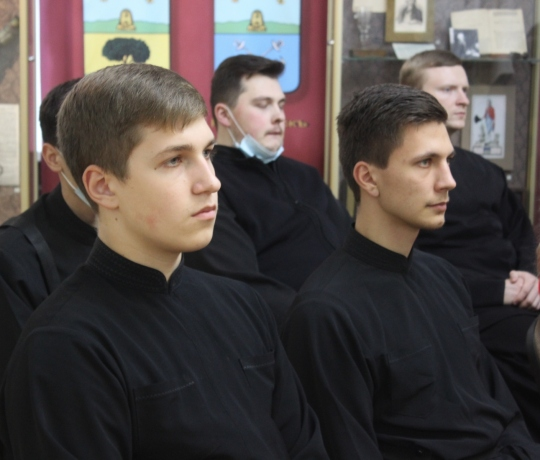 Студенты Тамбовской духовной семинарии посетили областной краеведческий музей