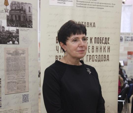 Семинаристы приняли участие во встрече с Мариной Вячеславовной Ганиевой