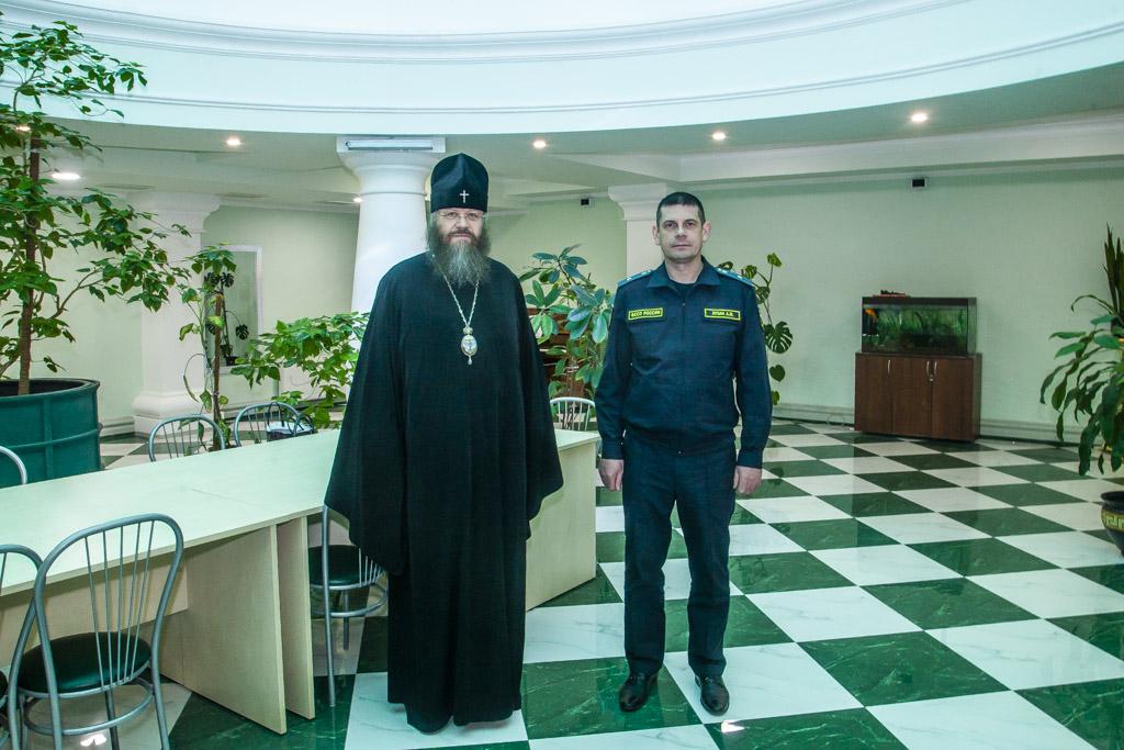 Тамбовскую духовную семинарию посетил руководитель Управления Федеральной службы судебных приставов по Тамбовской области
