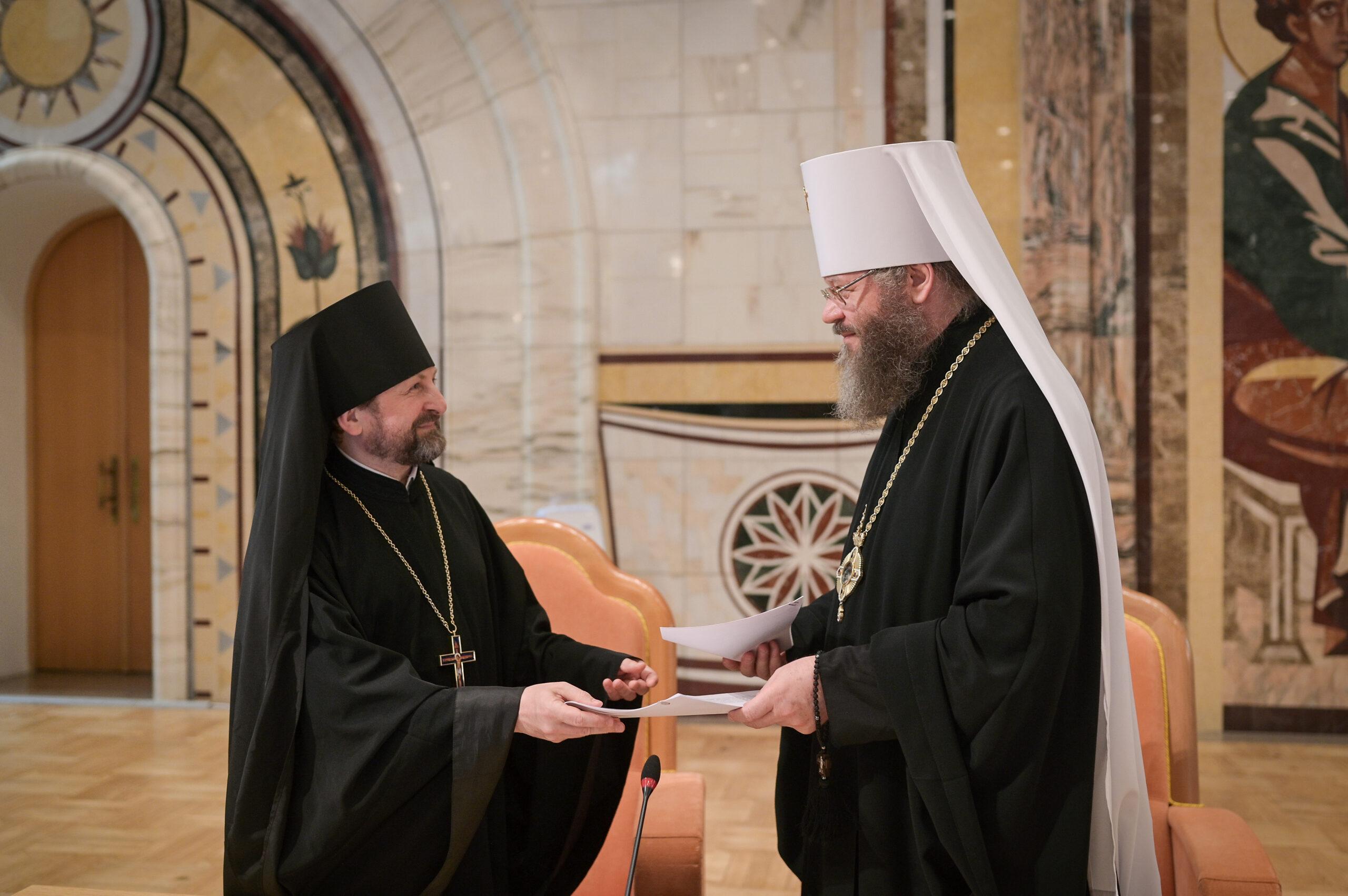 Состоялось подписание договора о международном сотрудничестве между Тамбовской духовной семинарией и Минской духовной академией