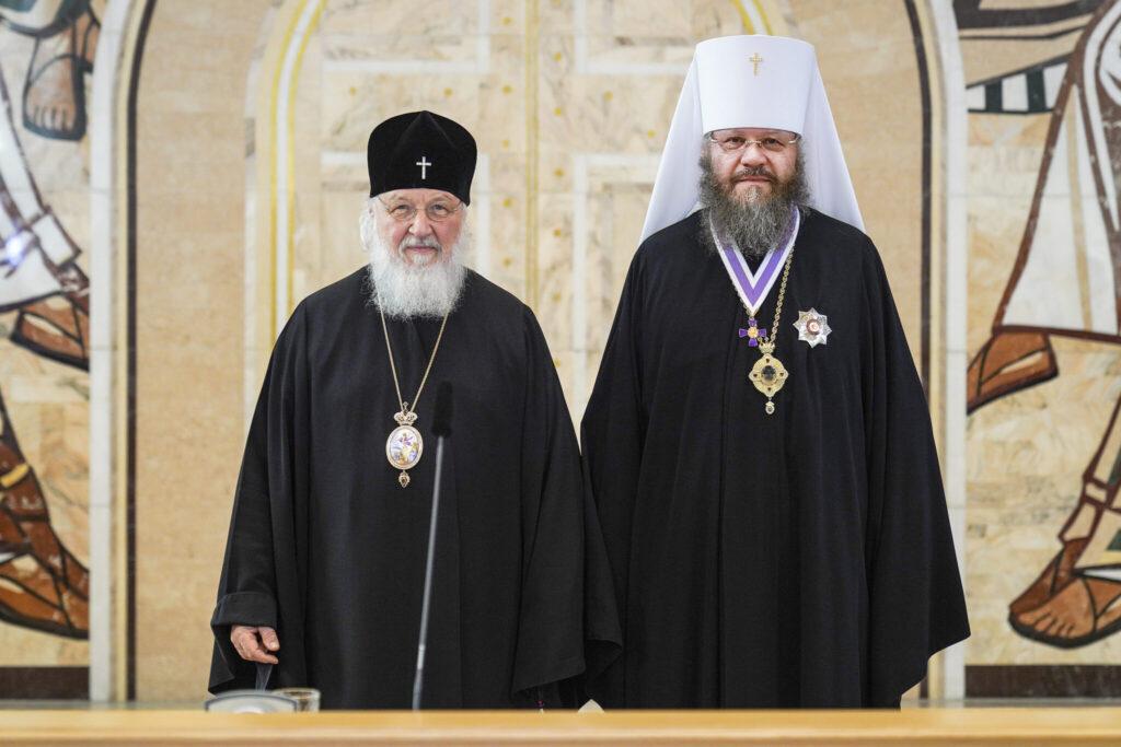Вручены высокие церковные награды