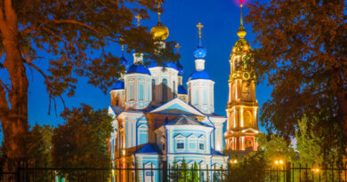 10 лет назад завершились работы по восстановлению колокольни Казанского монастыря