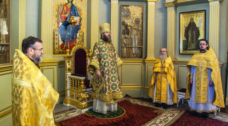 25 июля, в Неделю 5-ю по Пятидесятнице, митрополит Тамбовский и Рассказовский Феодосий совершил Божественную литургию в Спасо-Преображенском кафедральном соборе города Тамбова.