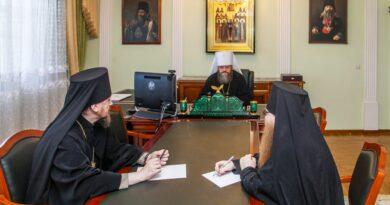 Состоялось заседание Архиерейского совета Тамбовской митрополии